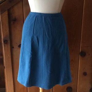 Vintage Handmade Knee Length Skirt